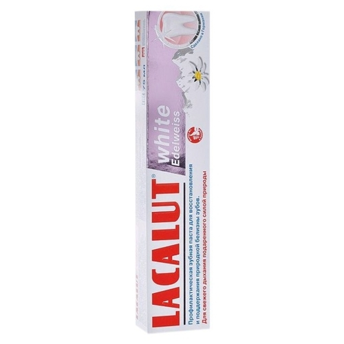 Зубная паста Lacalut White Edelweiss