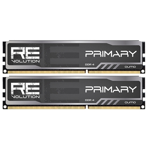Оперативная память 16 ГБ 2 шт. Qumo ReVolution Primary Q4Rev-32G2M2800P16Prim