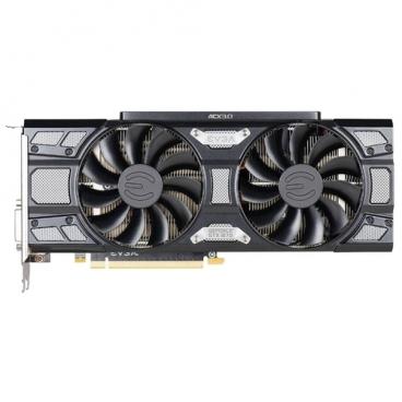 Видеокарта EVGA GeForce GTX 1070 1594Mhz PCI-E 3.0 8192Mb 8008Mhz 256 bit DVI HDMI HDCP SC Gaming Black Edition