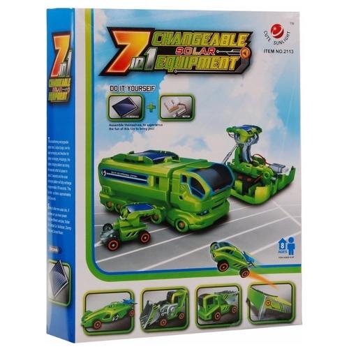 Электромеханический конструктор CuteSunlight Toys Factory 2113 Changeable Solar Equipment 7 in 1
