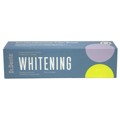 Зубная паста Dr. Dente Whitening