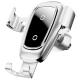 Держатель с беспроводной зарядкой Baseus Metal Wireless Charger Gravity Car Mount (Air Outlet Version)