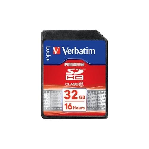 Карта памяти Verbatim SDHC Class 10 32GB