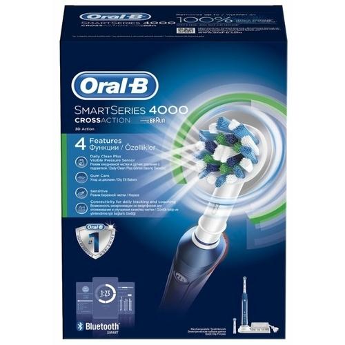 Электрическая зубная щетка Oral-B SmartSeries 4000