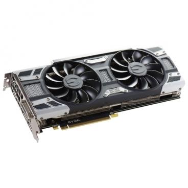 Видеокарта EVGA GeForce GTX 1080 1708Mhz PCI-E 3.0 8192Mb 10000Mhz 256 bit DVI HDMI HDCP