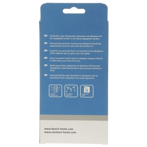 Bosch HEPA-фильтр BBZ152HF