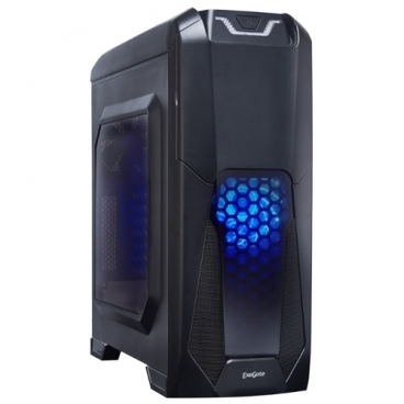 Компьютерный корпус ExeGate EVO-8201 600W Black