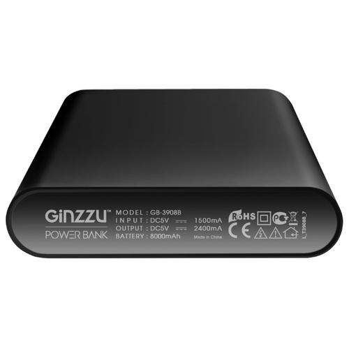 Аккумулятор Ginzzu GB-3908, 8000 mAh