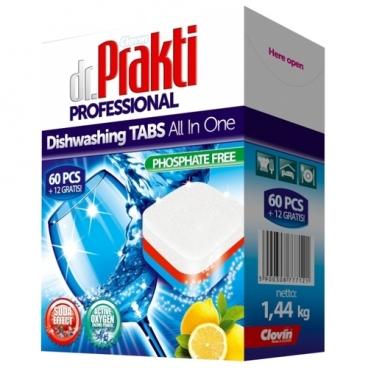 Dr.Prakti таблетки для посудомоечной машины