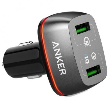Автомобильная зарядка ANKER PowerDrive+ 2 USB