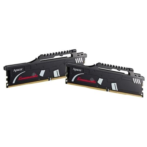 Оперативная память 8 ГБ 2 шт. Apacer Commando DDR4 2400 DIMM 16Gb Kit (8GBx2)