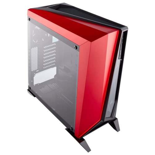 Компьютерный корпус Corsair Carbide Series SPEC-OMEGA Tempered Glass Black/red