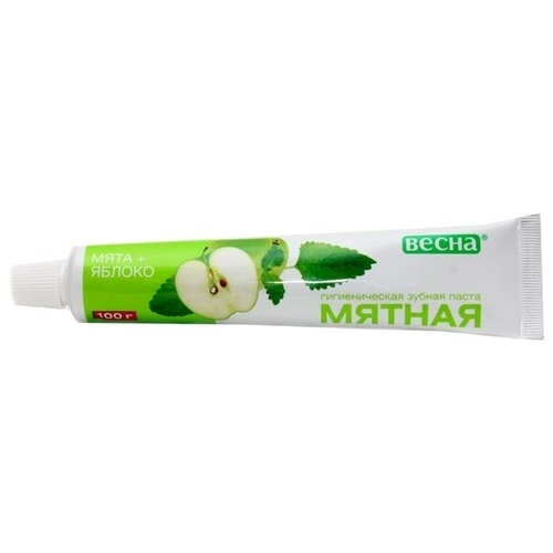 Зубная паста Весна Мята + Яблоко