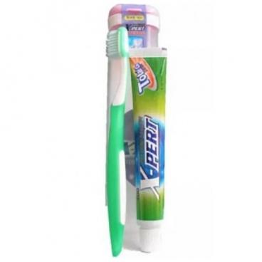 Зубная паста + щетка CLIO X-Pert + зубная щетка Portable Sense R