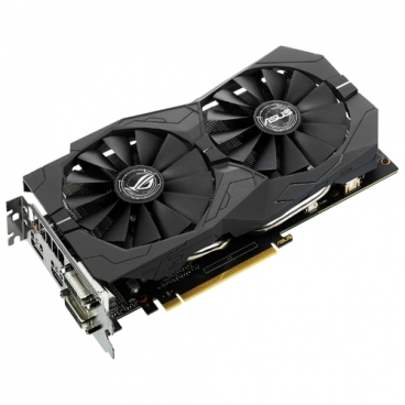 Видеокарта ASUS ROG GeForce GTX 1050 Ti 1379MHz PCI-E 3.0 4096MB 7008MHz 128 bit 2xDVI HDMI DisplayPort HDCP Strix Gaming OC