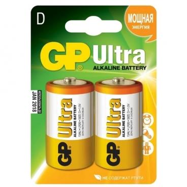 Батарейка GP Ultra Alkaline D