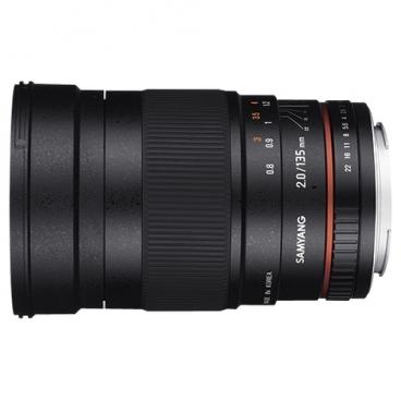 Объектив Samyang 135mm f/2 ED UMC Canon M