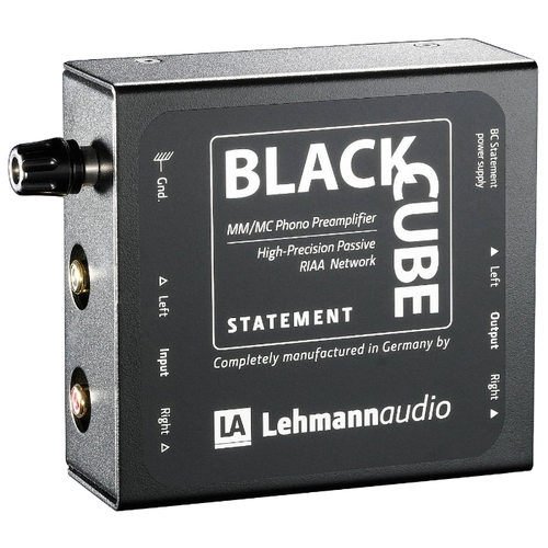 Фонокорректор Lehmannaudio Black Cube Statement