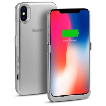Чехол-аккумулятор INTERSTEP Metal battery case для iPhone X