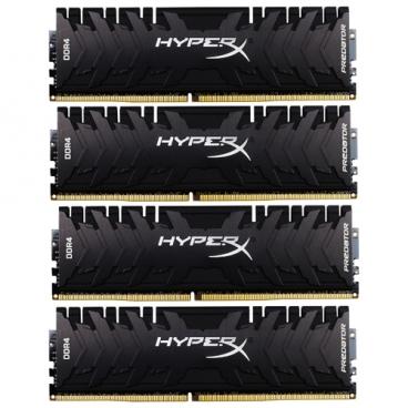 Оперативная память 16 ГБ 4 шт. HyperX HX424C12PB3K4/64