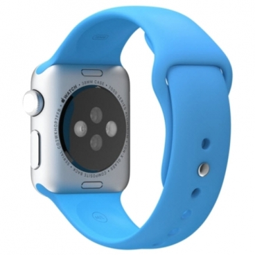 Karmaso Ремешок для Apple Watch 42 мм спортивный голубой