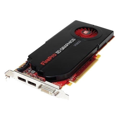 Видеокарта AMD FirePro V5800 700Mhz PCI-E 2.0 1024Mb 4000Mhz 128 bit DVI