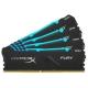 Оперативная память 16 ГБ 4 шт. HyperX HX434C16FB3AK4/64