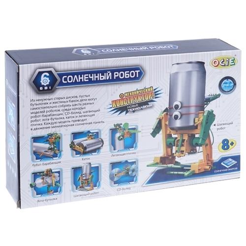 Электромеханический конструктор OCIE На солнечной энергии 20003265 Солнечный робот
