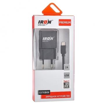 Сетевая зарядка IRON Selection PM-201t