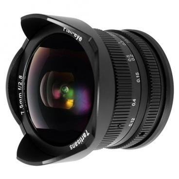 "Объектив 7artisans 7.5mm f/2.8 Sony E"""