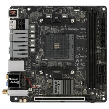 Материнская плата ASRock Fatal1ty X470 Gaming-ITX/ac