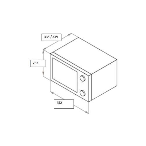 Микроволновая печь MAUNFELD GFSMO.17.5W
