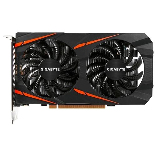 Видеокарта GIGABYTE Radeon RX 560 1234MHz PCI-E 3.0 4096MB 7000MHz 128 bit DVI HDMI HDCP Gaming OC (rev. 2.0)