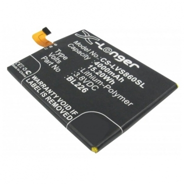 Аккумулятор Cameron Sino CS-LVS860SL для Lenovo S860
