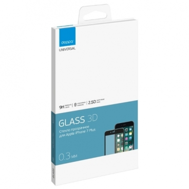 Защитное стекло Deppa GLASS 62037/62038 для Apple iPhone 7 Plus/8 Plus