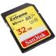 Карта памяти SanDisk Extreme SDHC UHS Class 3 V30 90MB/s 32GB