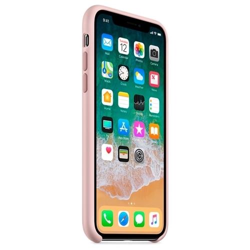 Чехол Apple силиконовый для Apple iPhone X