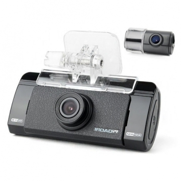 Видеорегистратор IROAD V9 с GPS, 2 камеры, GPS