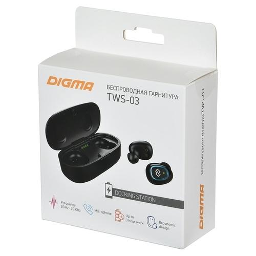 Наушники Digma TWS-03
