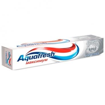 Зубная паста Aquafresh Ultimate Whitening Максимум + Отбеливание