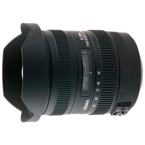Объектив Sigma AF 12-24mm f/4.5-5.6 DG HSM II Canon EF