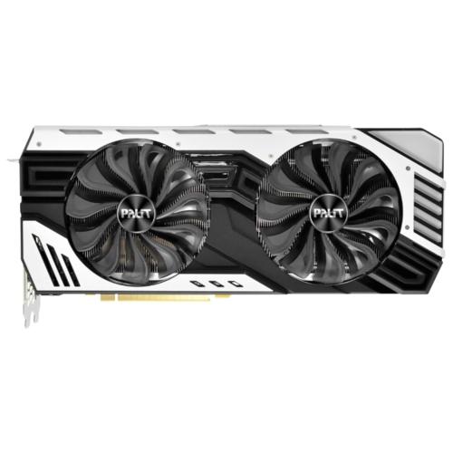 Видеокарта Palit GeForce RTX 2080 1515MHz PCI-E 3.0 8192MB 14000MHz 256 bit HDMI 3xDisplayPort 3xDisplayPort HDCP Super JetStream