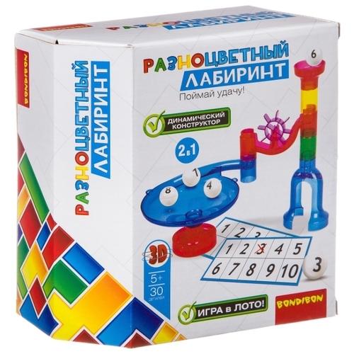 Динамический конструктор BONDIBON Разноцветный лабиринт ВВ2740