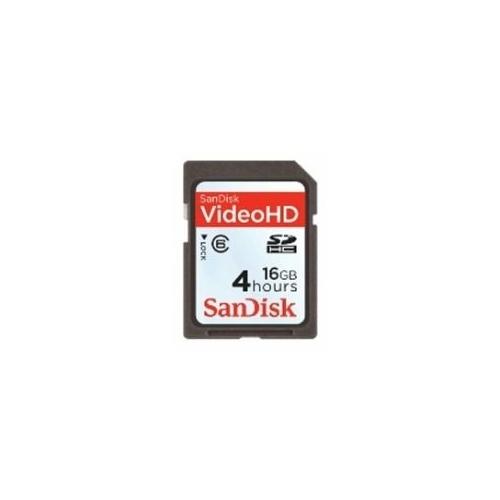 Карта памяти SanDisk Video HD SDHC Class 6