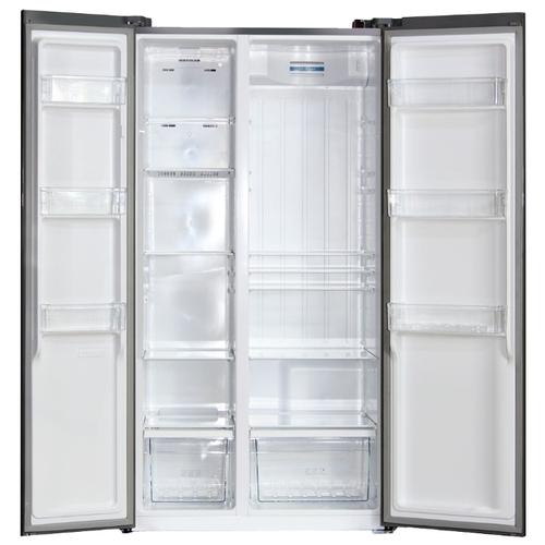Холодильник Ginzzu NFK-530 Gold glass