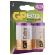 Батарейка GP Extra Alkaline D