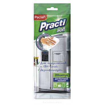 Влажные салфетки для холодильников и СВЧ Paclan