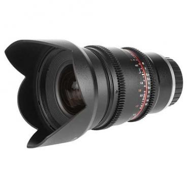 Объектив Samyang 16mm T2.2 ED AS UMC CS VDSLR Canon M