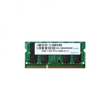 Оперативная память 4 ГБ 1 шт. Apacer DDR3L 1600 SO-DIMM 4Gb