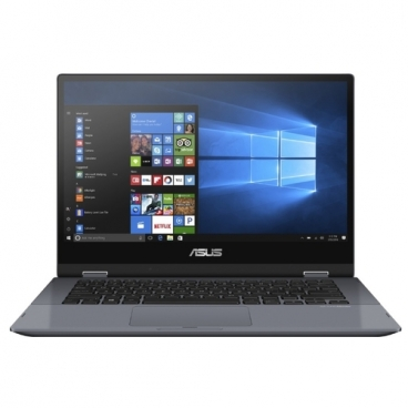 "Ноутбук ASUS VivoBook Flip 14 TP412UA-EC206RA (Intel Pentium 4415U 2300 MHz/14""/1920x1080/4GB/128GB SSD/DVD нет//Wi-Fi/Bluetooth/Windows 10 Pro)"